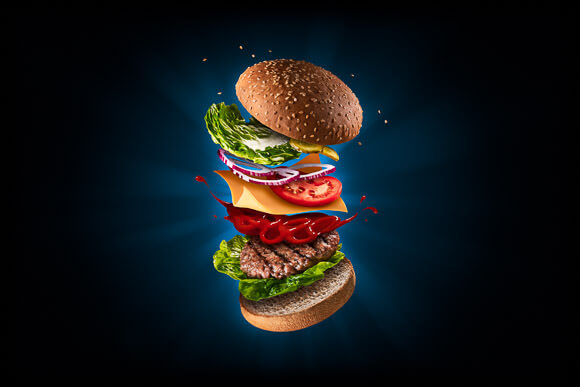 Flying Hamburger - Fast Food